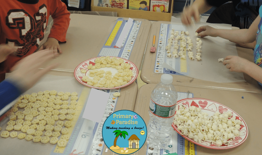 100th Day Snack- Hard At Work