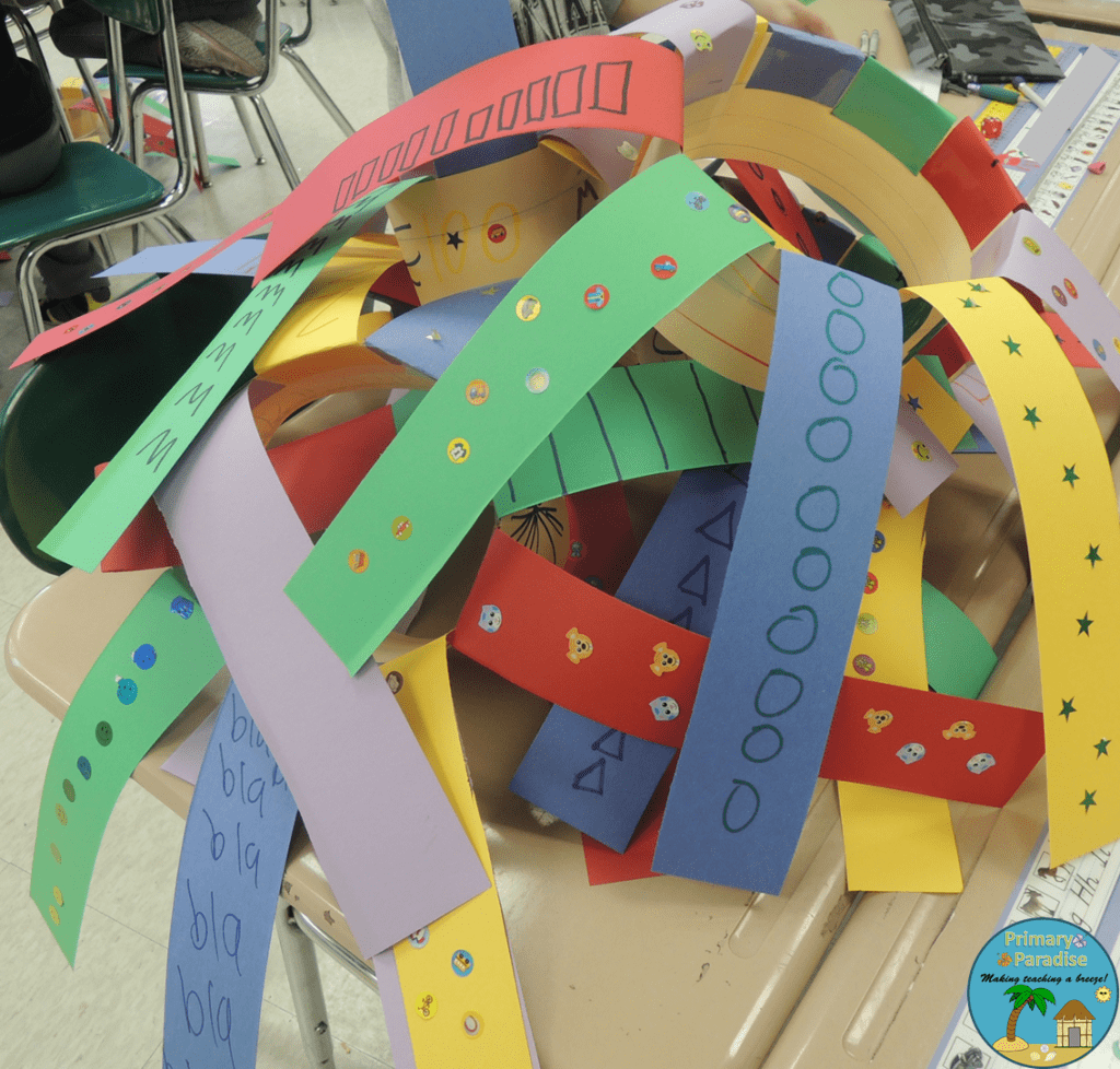 100th Day Hats Pile