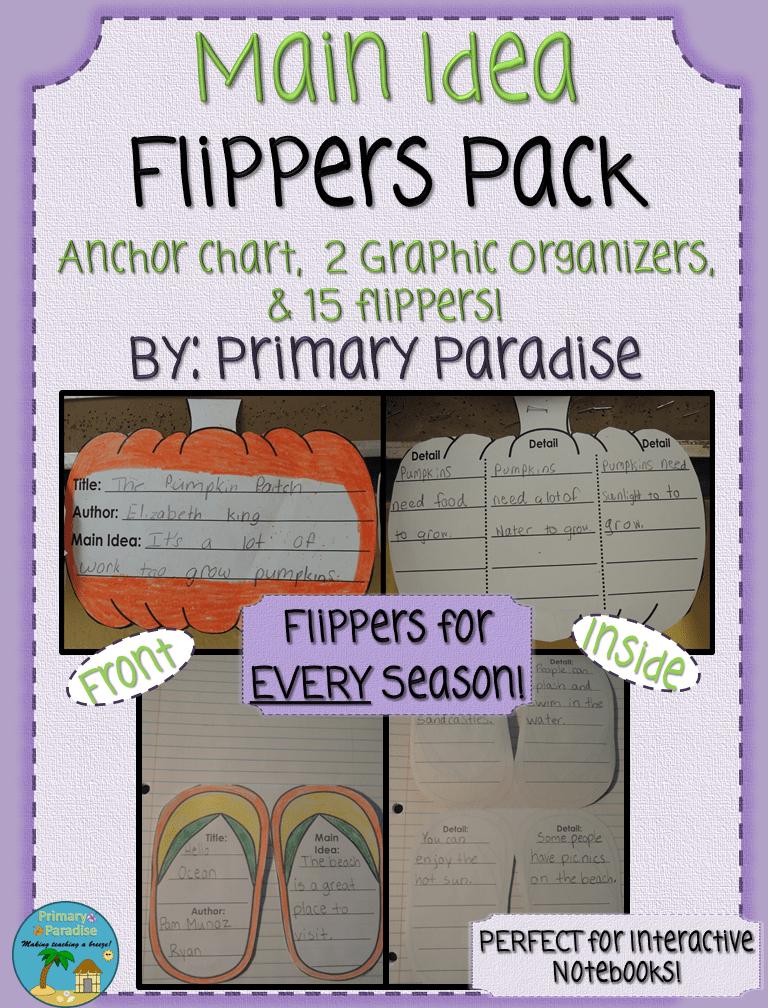 Main Idea Flippers Pack