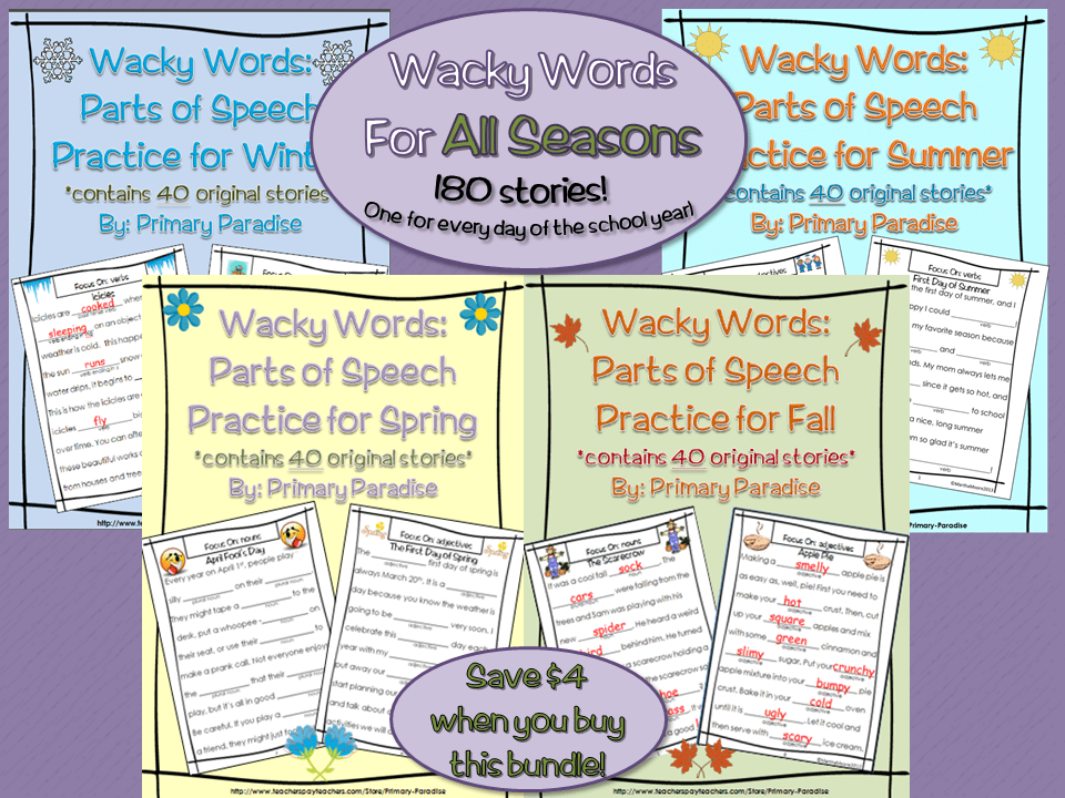 Wacky Words Bundle