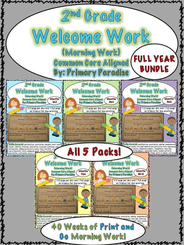 Welcome Work Bundle