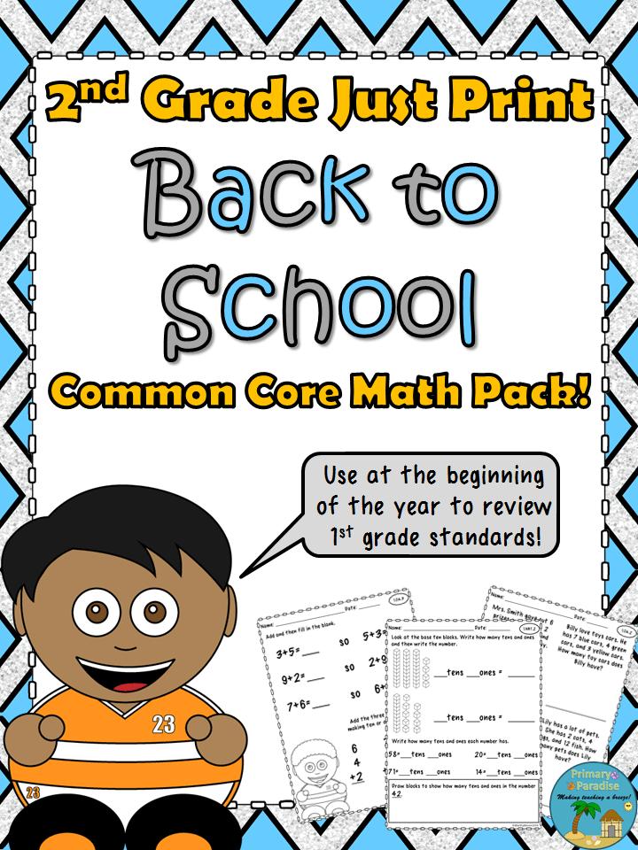 2nd Grade BTS Math