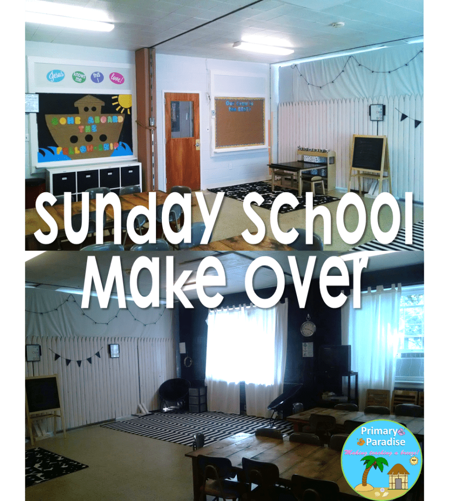 Sunday School Room Make Over