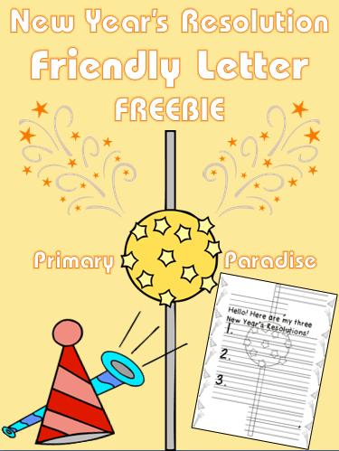friendly letter freebie