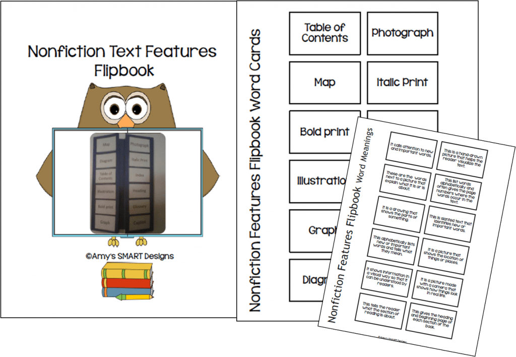 Page 52 of 60 – Text and Graphic Features Worksheets