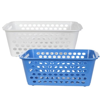 plastic book baskets for classroom