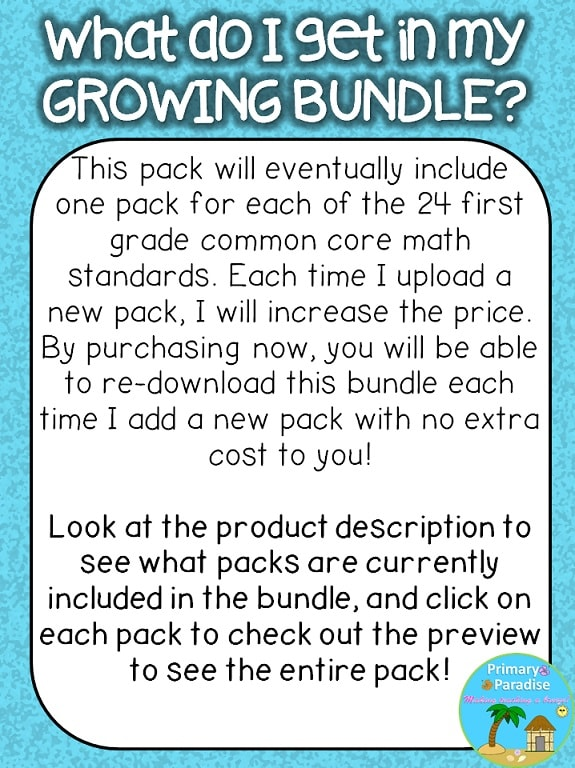 What is a growing bundle?