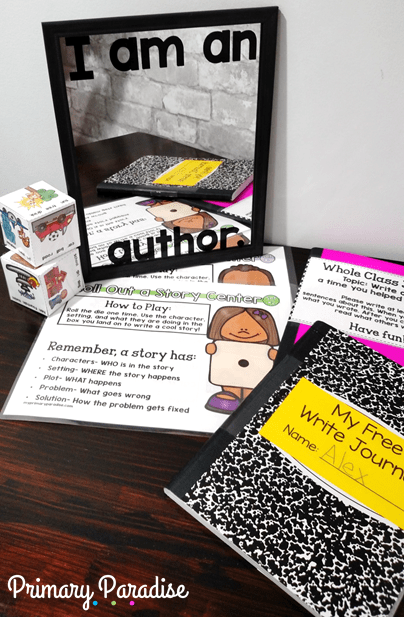 Help your students realize their writing potential by boosting their confidence! Students are authors. Let's empower them with these quick tips for kindergarten, first, grade, elementary writing instruction!