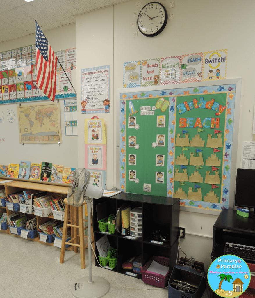 5 Classroom Reveal