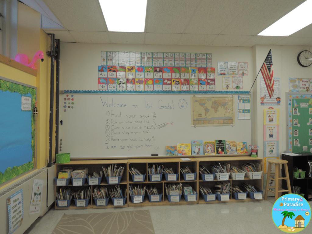 7 Classroom Reveal