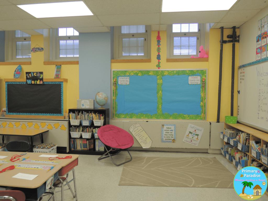 8 Classroom Reveal