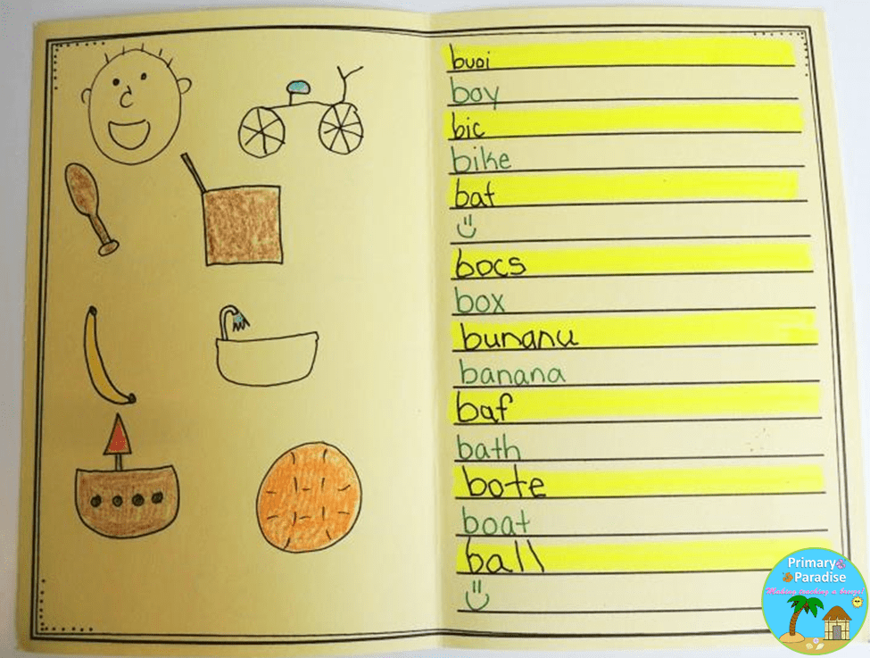 Alphabet Book example 1