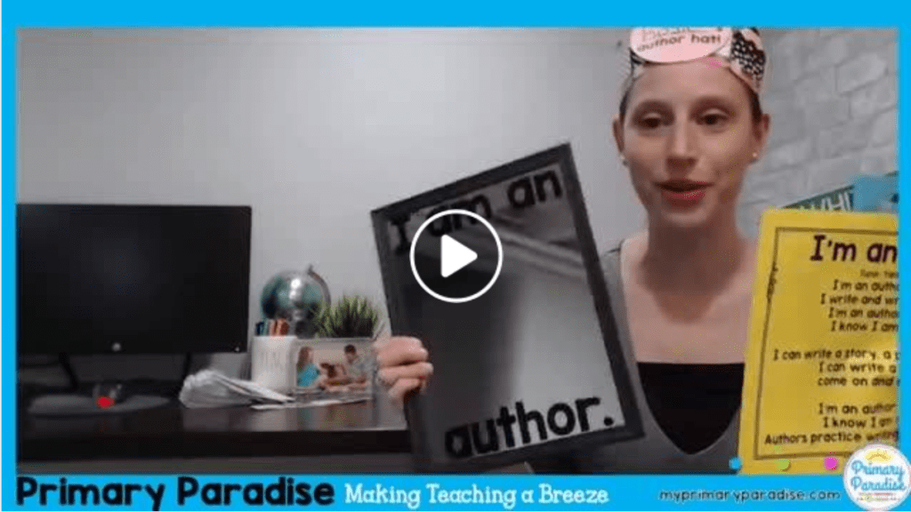 Help your students realize they're authors! Boost their writing confidence!
