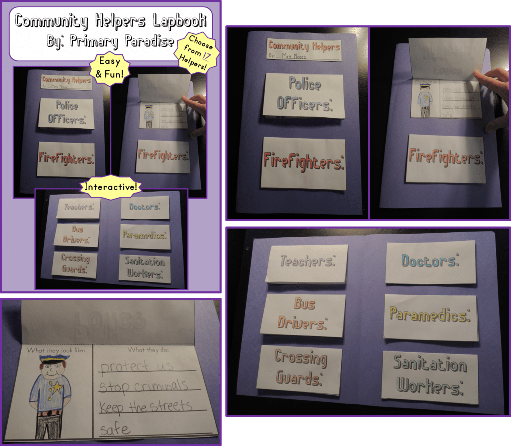 Community Lapbook Collage