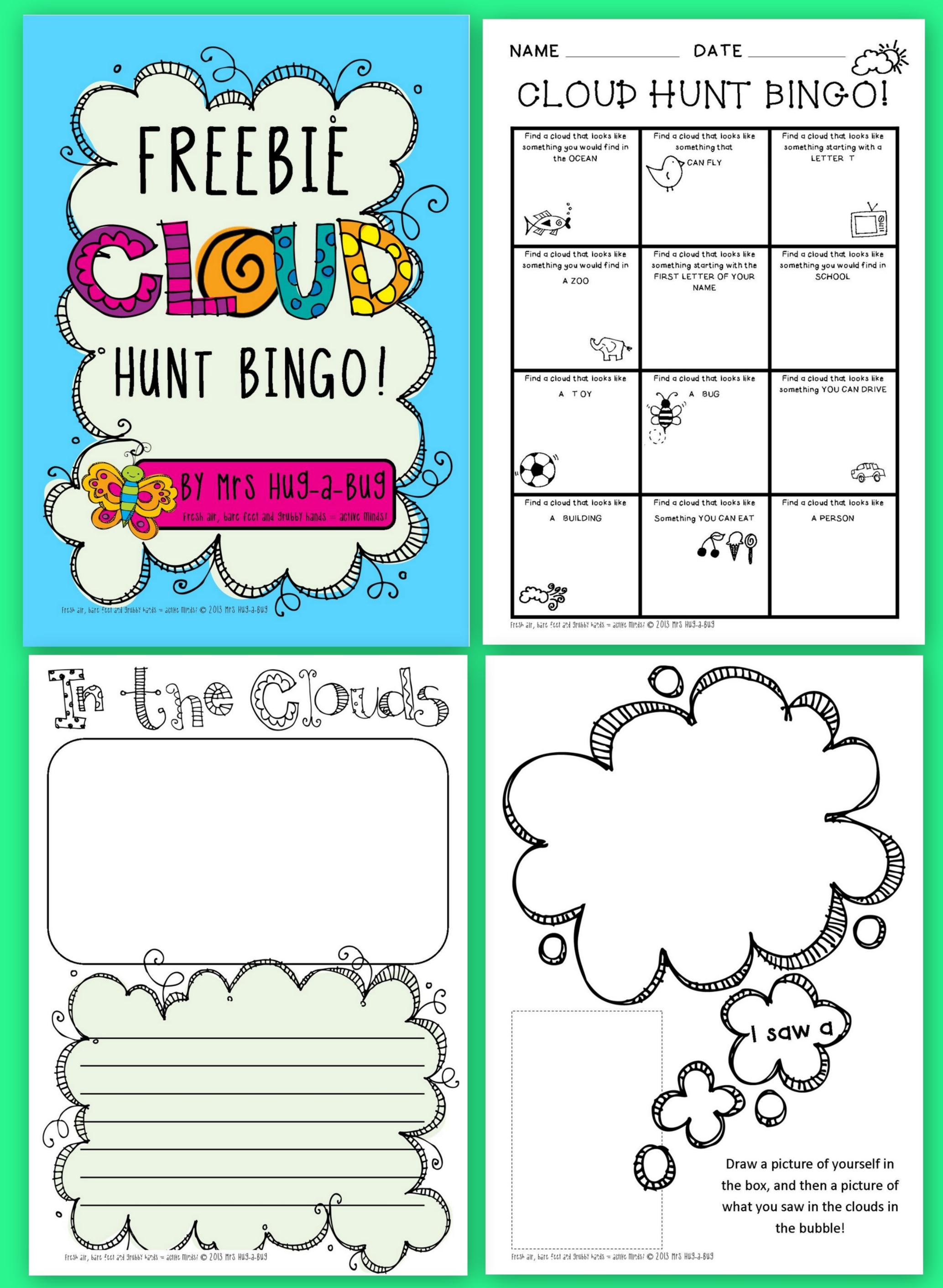 Cloud worksheets pdf