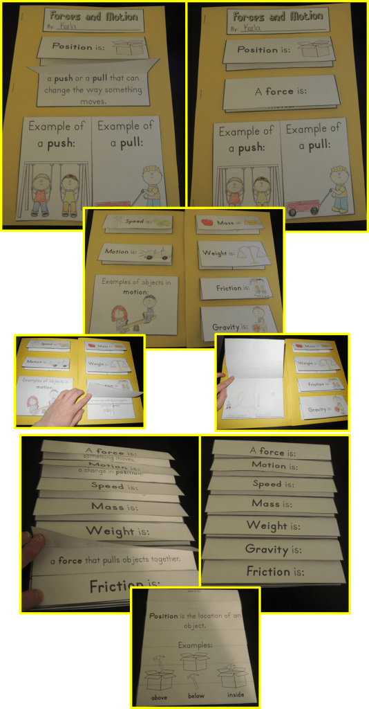 Forces and Motion Lapbook