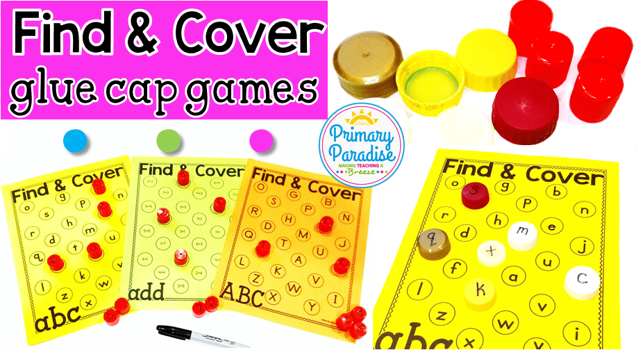 Dried Up Glue Caps? Engage Your Students with this Free Game