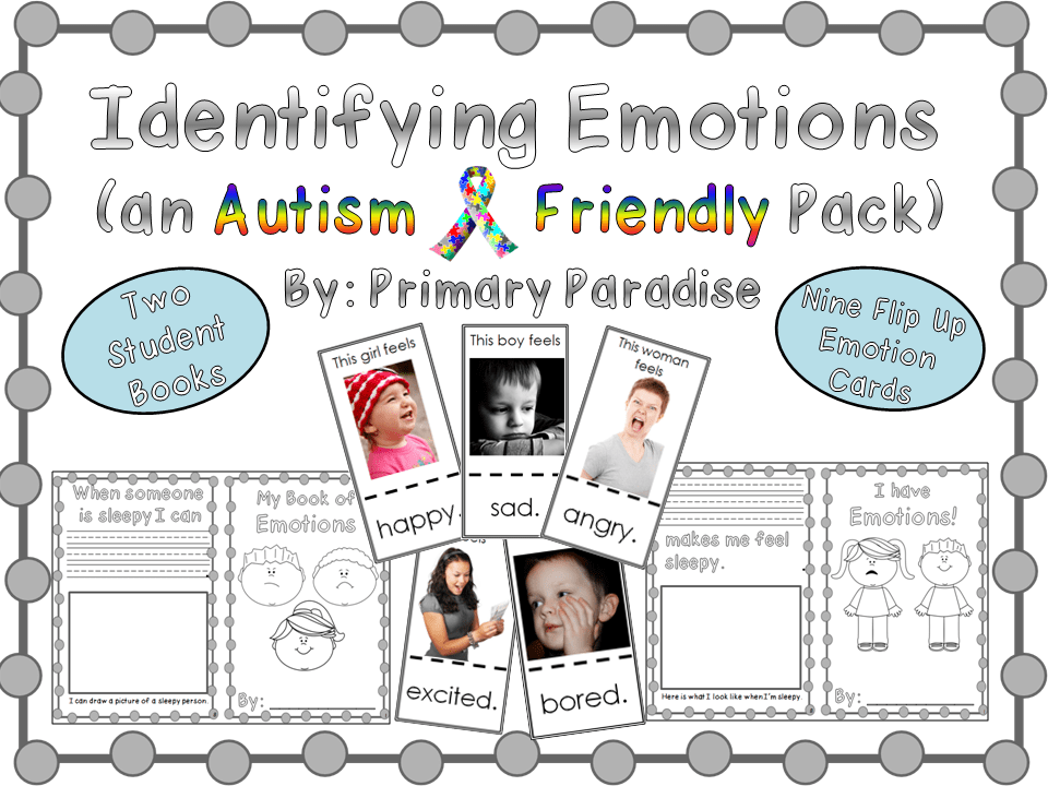 Identifying Emotions Autism Friendly Pack