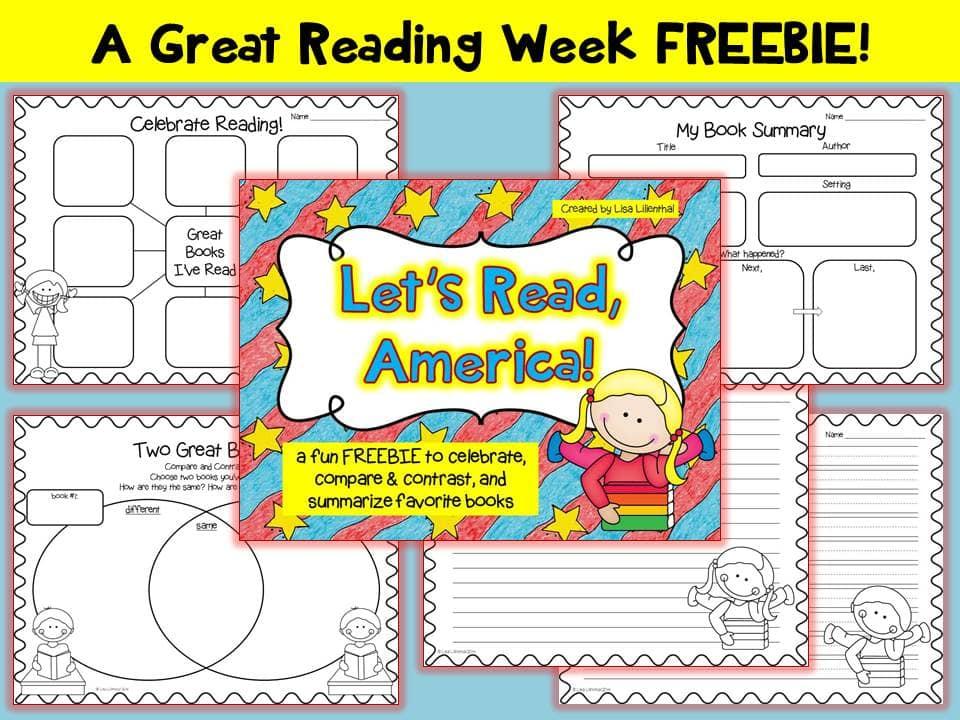 Lets-Read-America FREEBIE