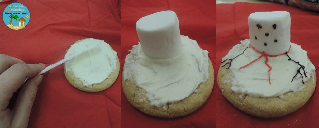 Melted Snowman Cookie 1