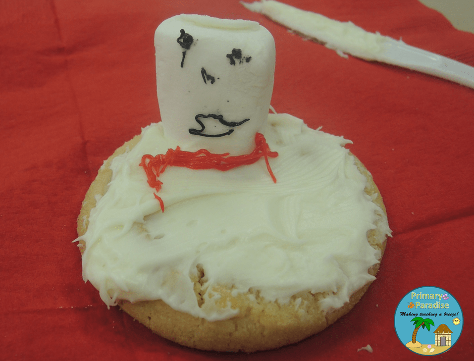 Melted Snowman Cookie 4