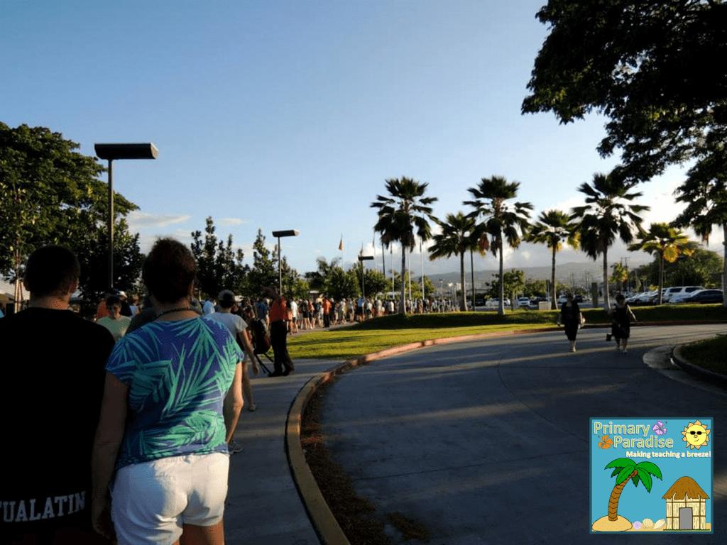 Pearl Harbor Line