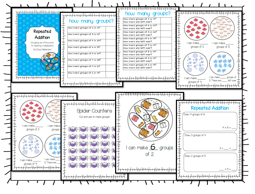 math worksheet : reading strategies  my primary paradise : Repeated Addition Worksheets 3rd Grade