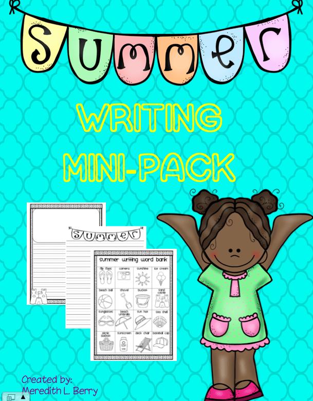 Summer Writing Mini Pack