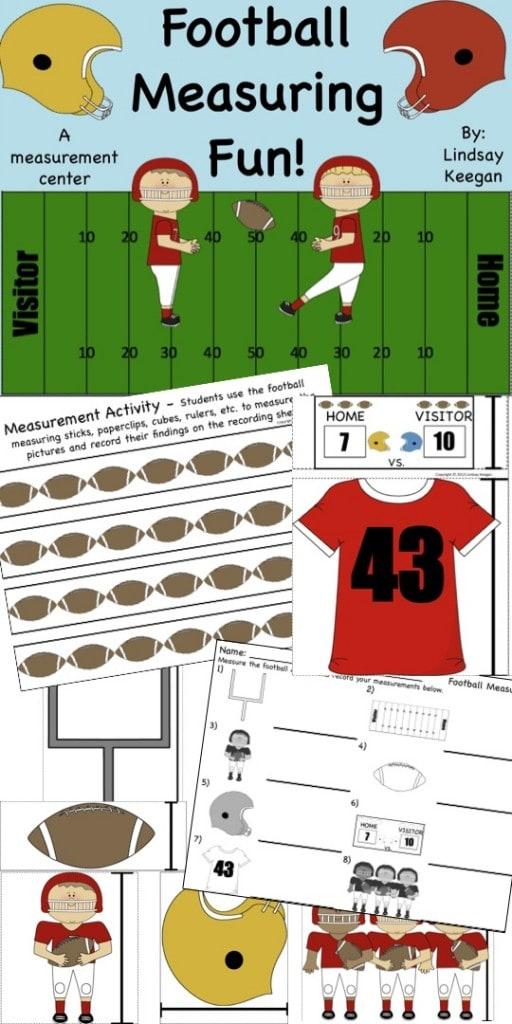 Football Measuring Freebie