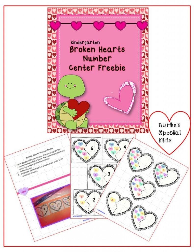 Broken hearts freebie