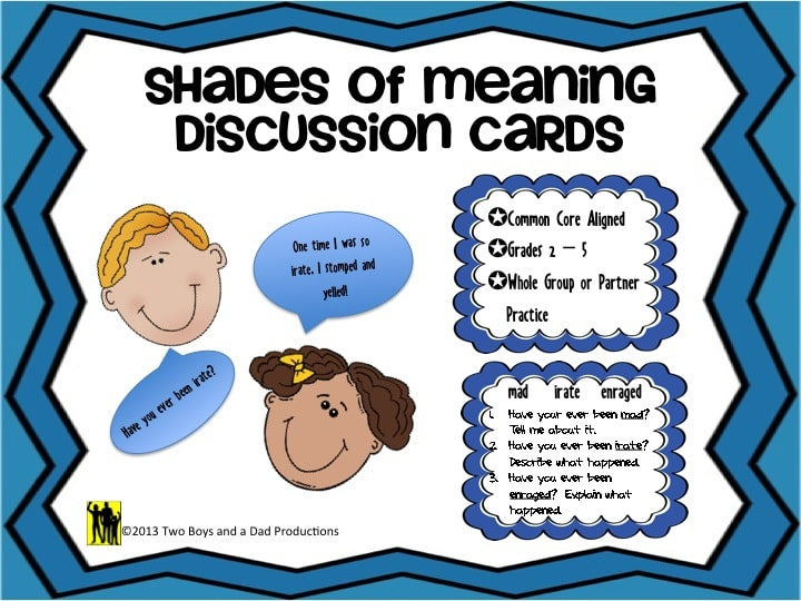 Shades of Meaning FREEBIE