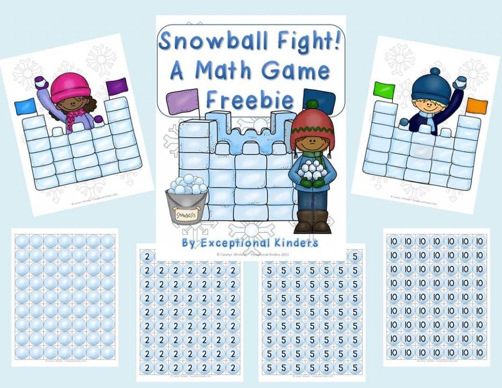 Snowball-Fight-Freebie