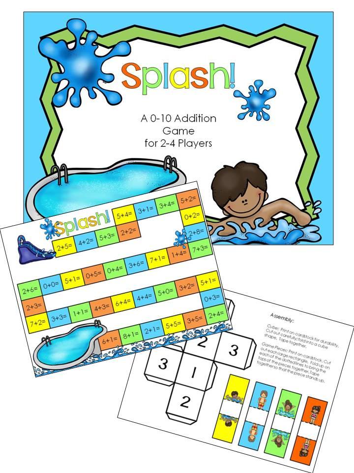 Splash-Addition-Game-Collage