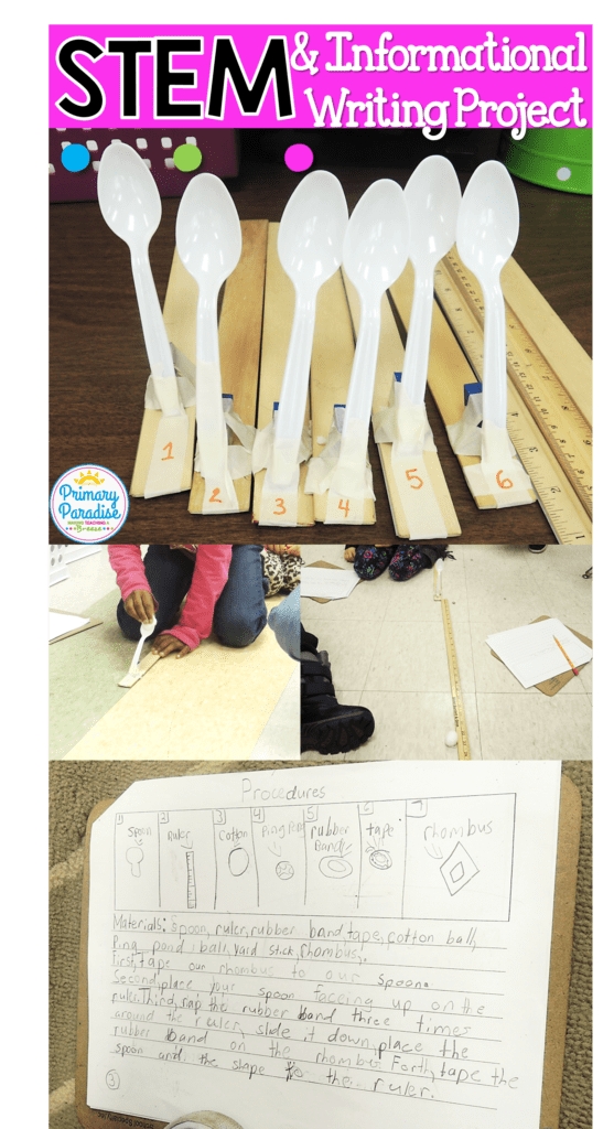 STEM and Informational Writing go hand in hand in this fun, hands on learning project for kindergarten, first, and second grade students!