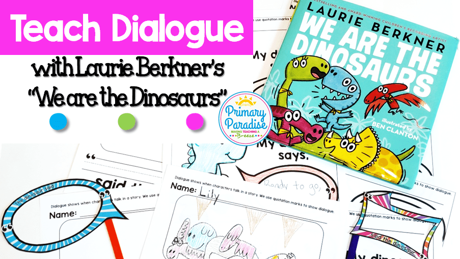 Dialogue, Dinosaurs, and the Adele of the PreSchool Crowd