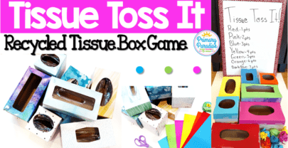 How To Repurpose Empty Tissue Boxes & Engage Your Class