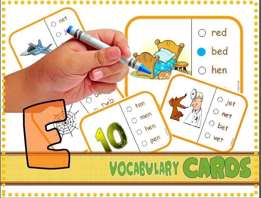 Free Vocab CVC