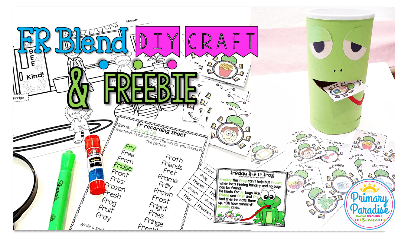 Fr Blend Freebie: Freddy the Frog Game