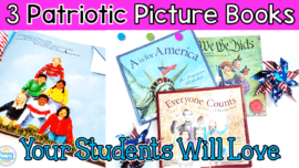 Picture books that are engaging and fun about America! These patriotic picture books are sure to be a hit in your elementary classroom and are perfect for celebrating holidays like the 4th of July, Veteran's Day, election day, and more!