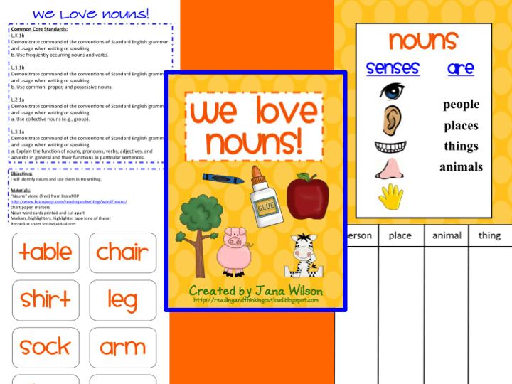 Free Nouns Lessons