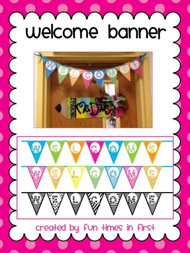 Free Welcome Banner #top5freebiesoftheweek